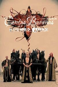 """Cover: """"Cantus Buranus Live"""""""