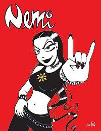 Nemi - attraktive Comic-Dame