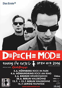 Flyer: Open Airs 2006