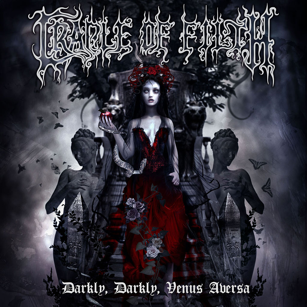 Cradle of Filth: Darkly, Darkly, Venus Aversa (2010) Book Cover