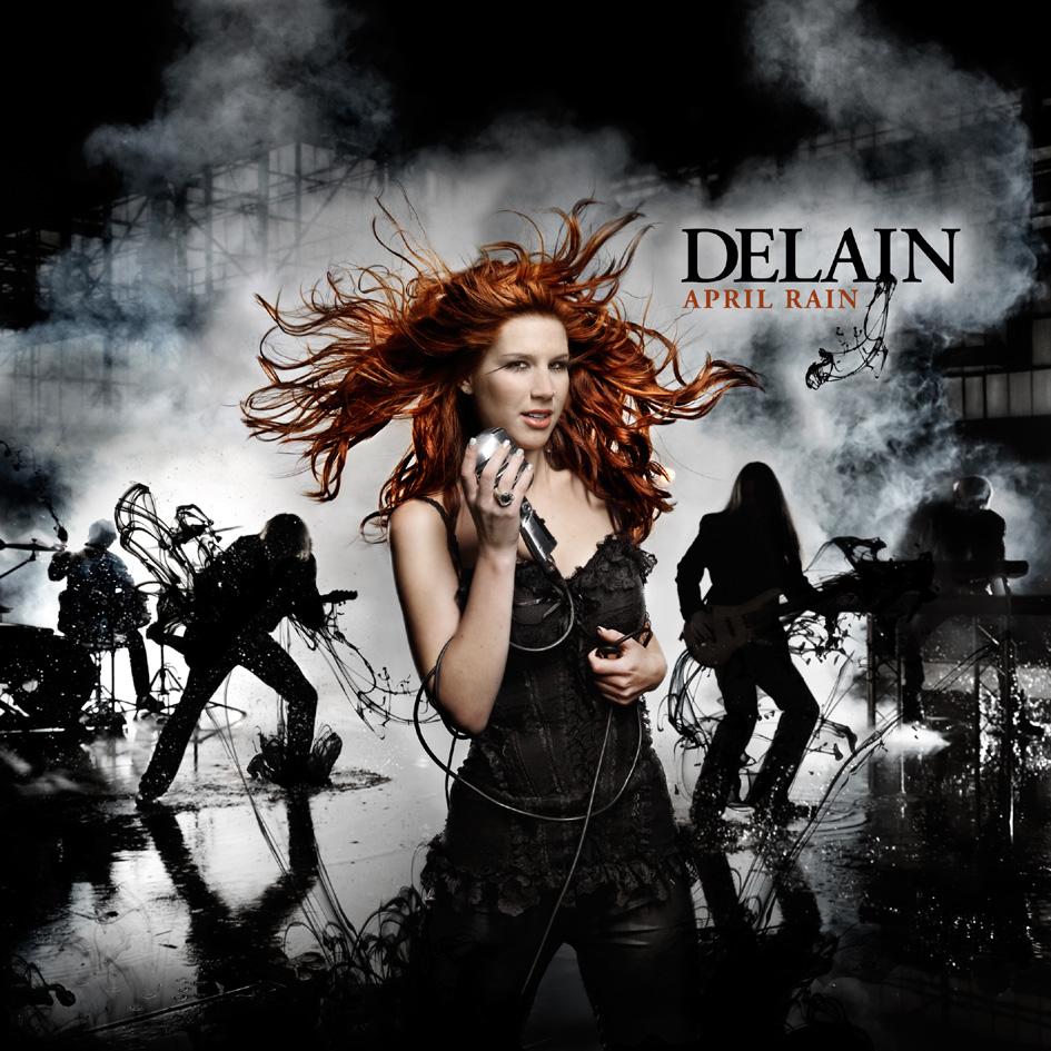 Delain: April Rain (2009) Book Cover