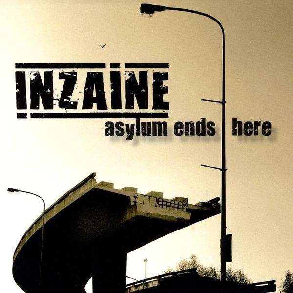 Inzaine: Asylum Ends Here (2009) Book Cover