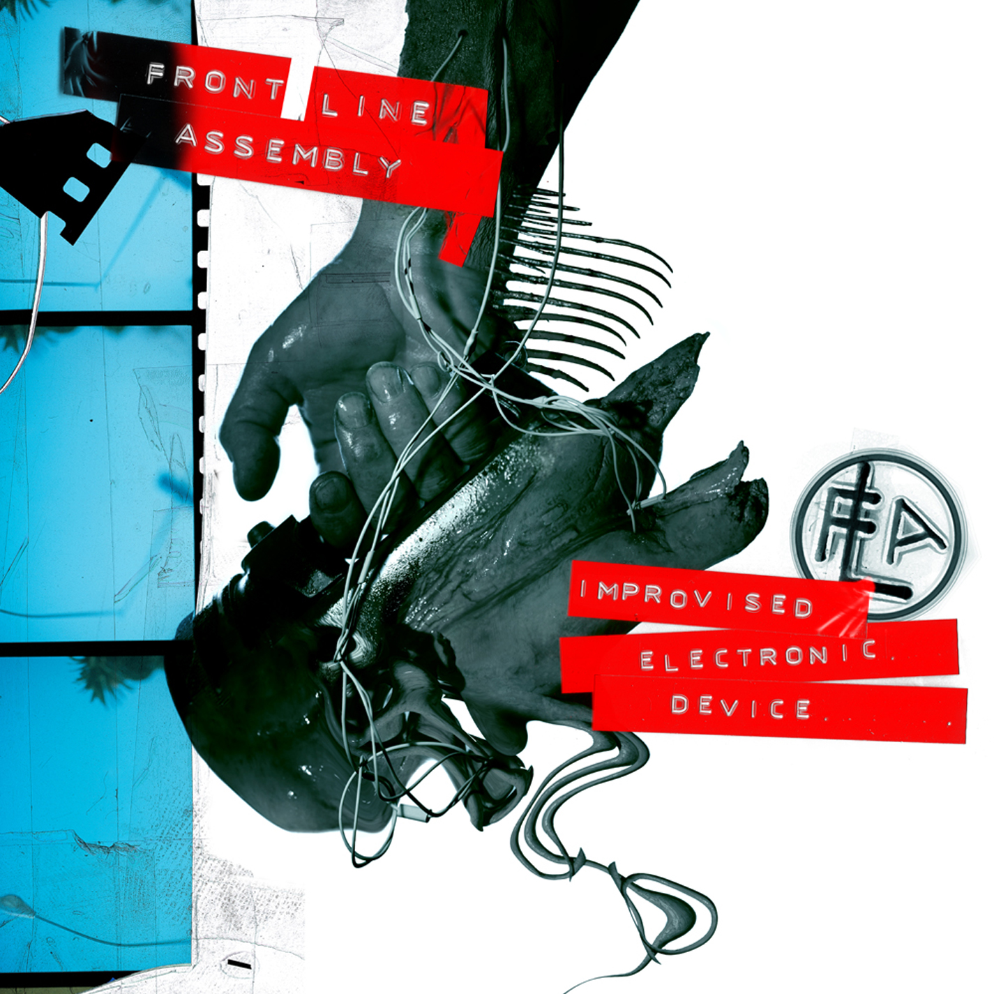 Front Line Assembly: Improvised Electronic Device (2010) Book Cover