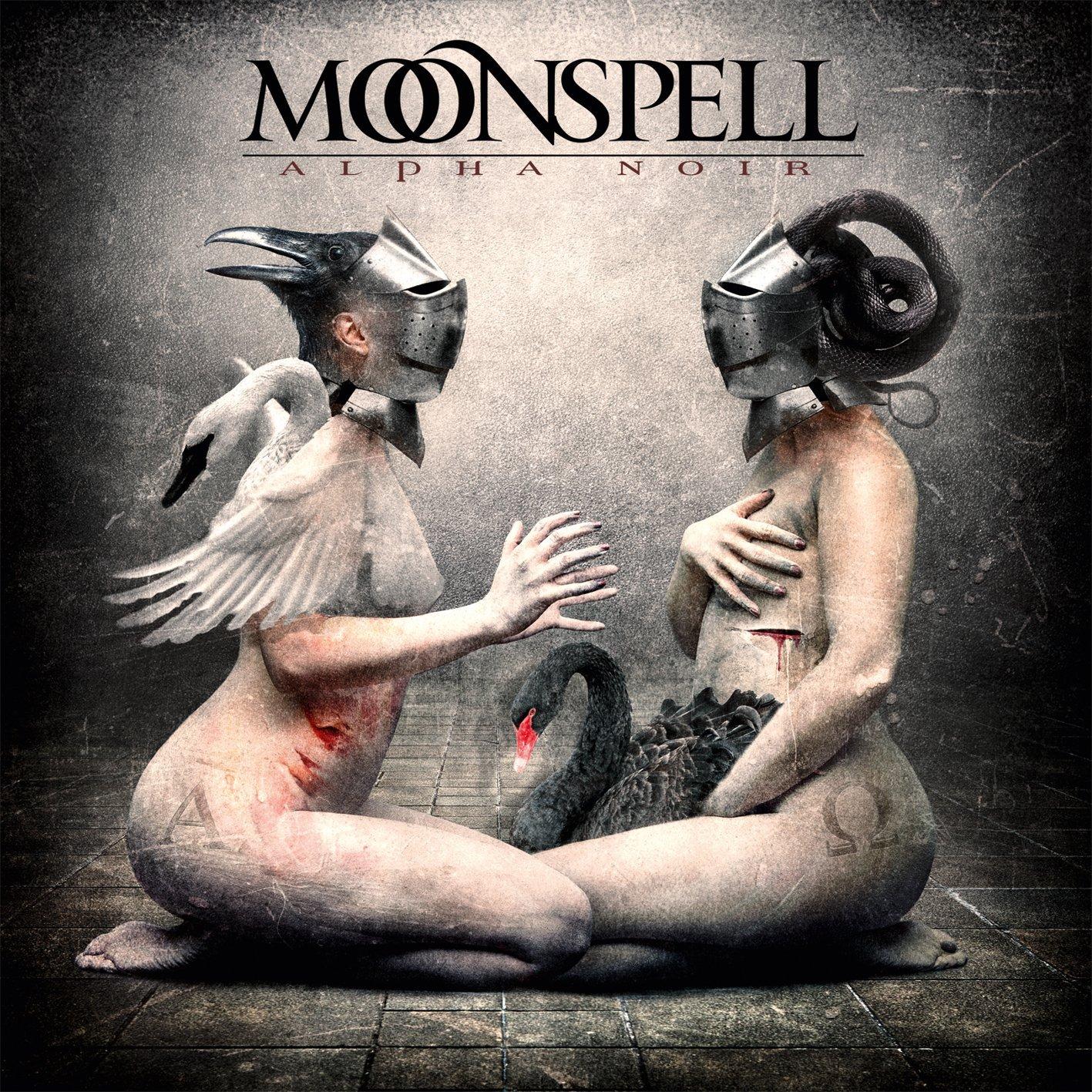 Moonspell: Alpha Noir - Omega White (2012) Book Cover