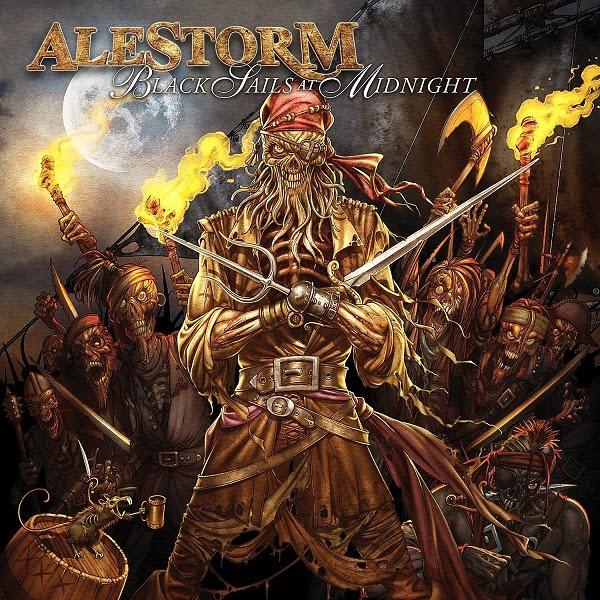 Alestorm: Black Sails at Midnight (2009) Book Cover