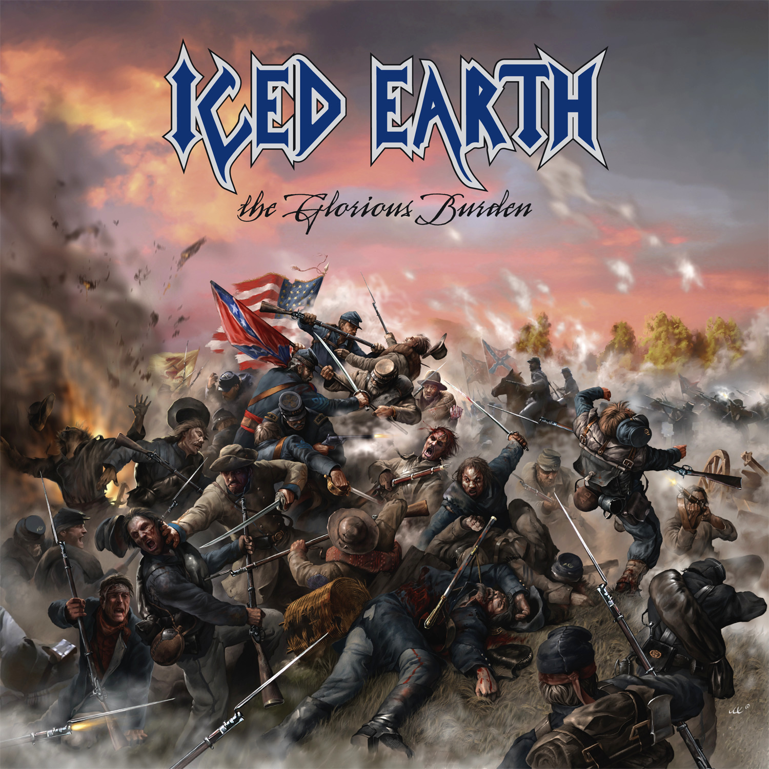 Iced Earth: The Glorious Burden (2004) Book Cover