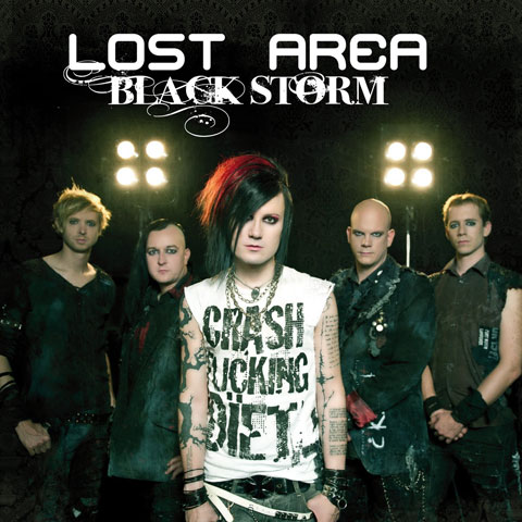 Lost Area: Black Storm [EP] (2012) Book Cover