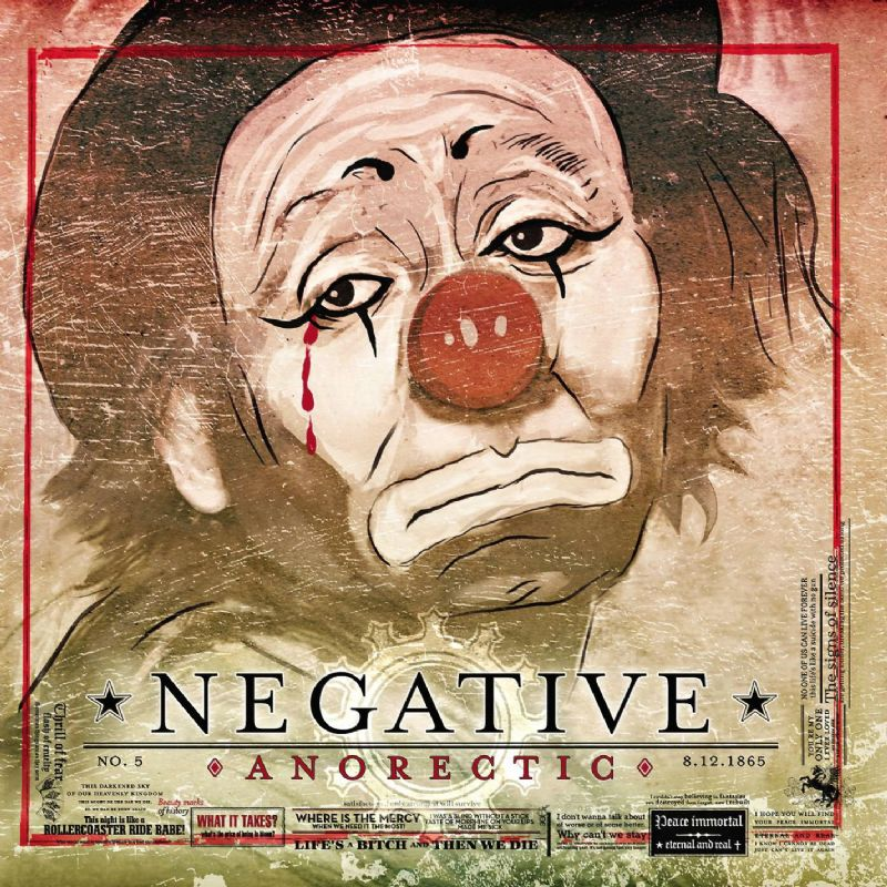Negative: Anorectic (2006) Book Cover