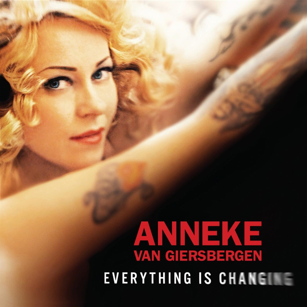 Anneke Van Giersbergen: Everything Is Changing (2012) Book Cover