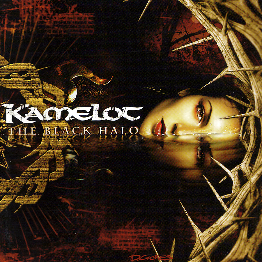 Kamelot: The Black Halo (2005) Book Cover