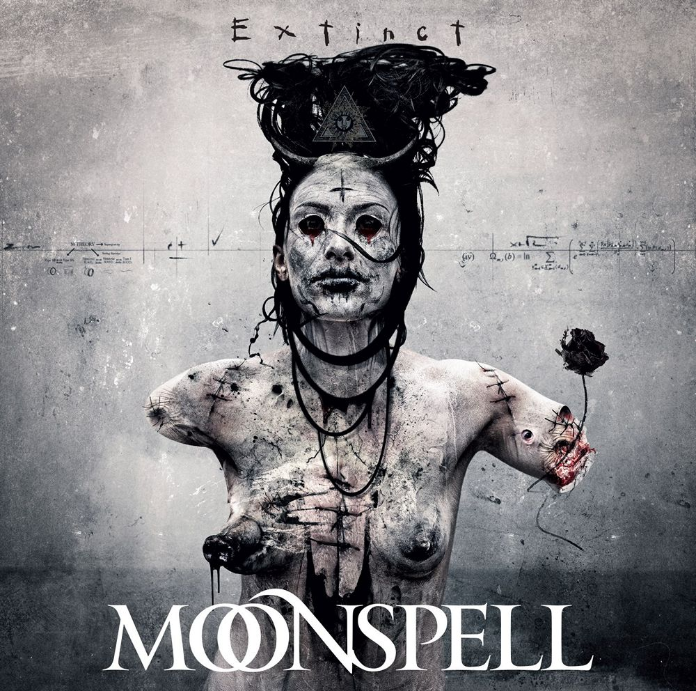 Moonspell: Extinct (2015) Book Cover