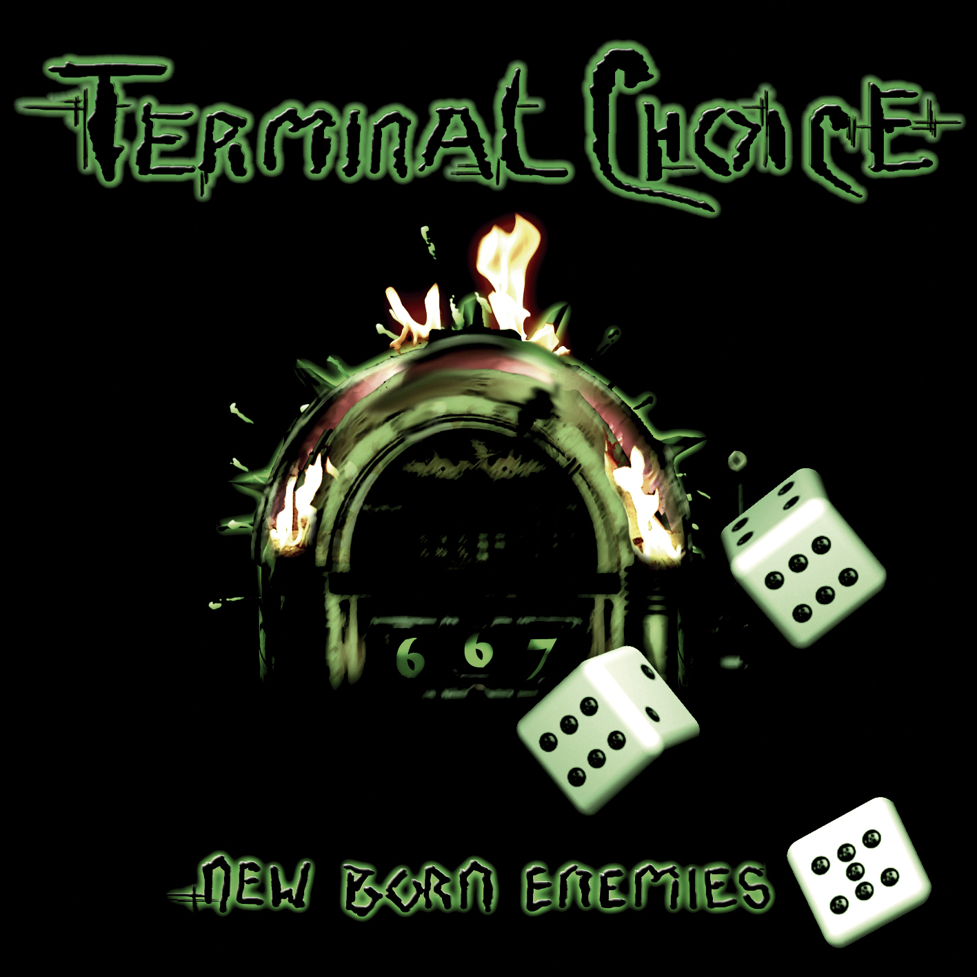 Terminal Choice: New Born Enemies (2006) Book Cover