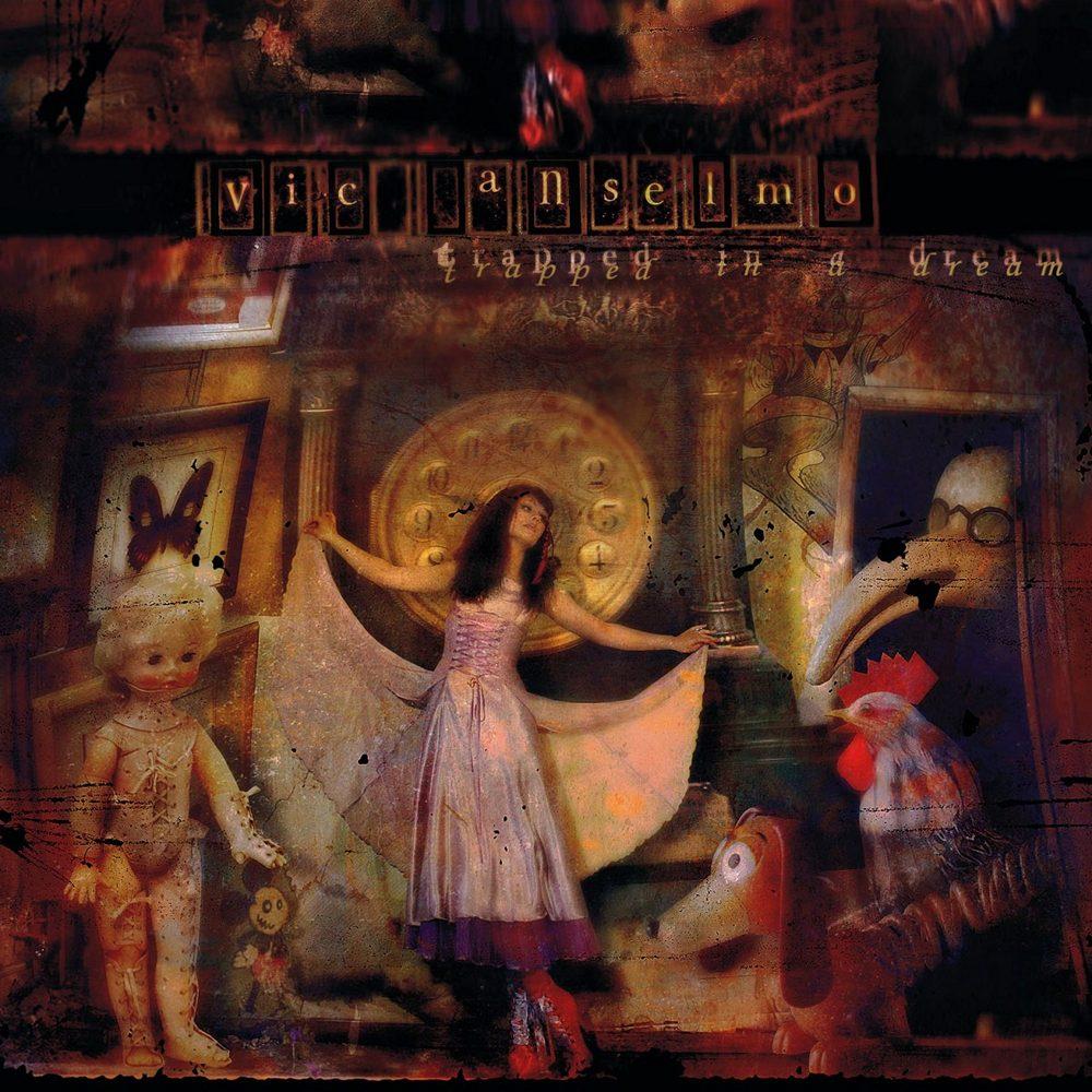 Vic Anselmo: Trapped in a Dream (2008) Book Cover