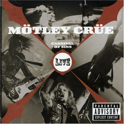 Mötley Crüe: Carnival Of Sins - Live (2006) Book Cover