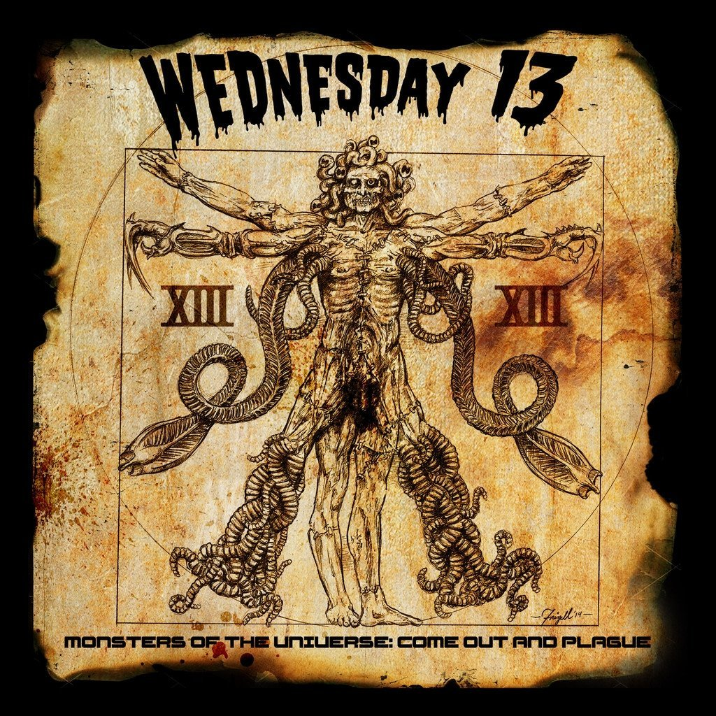 Wednesday 13: Monsters of the Universe - Come out and plague (2015) Book Cover