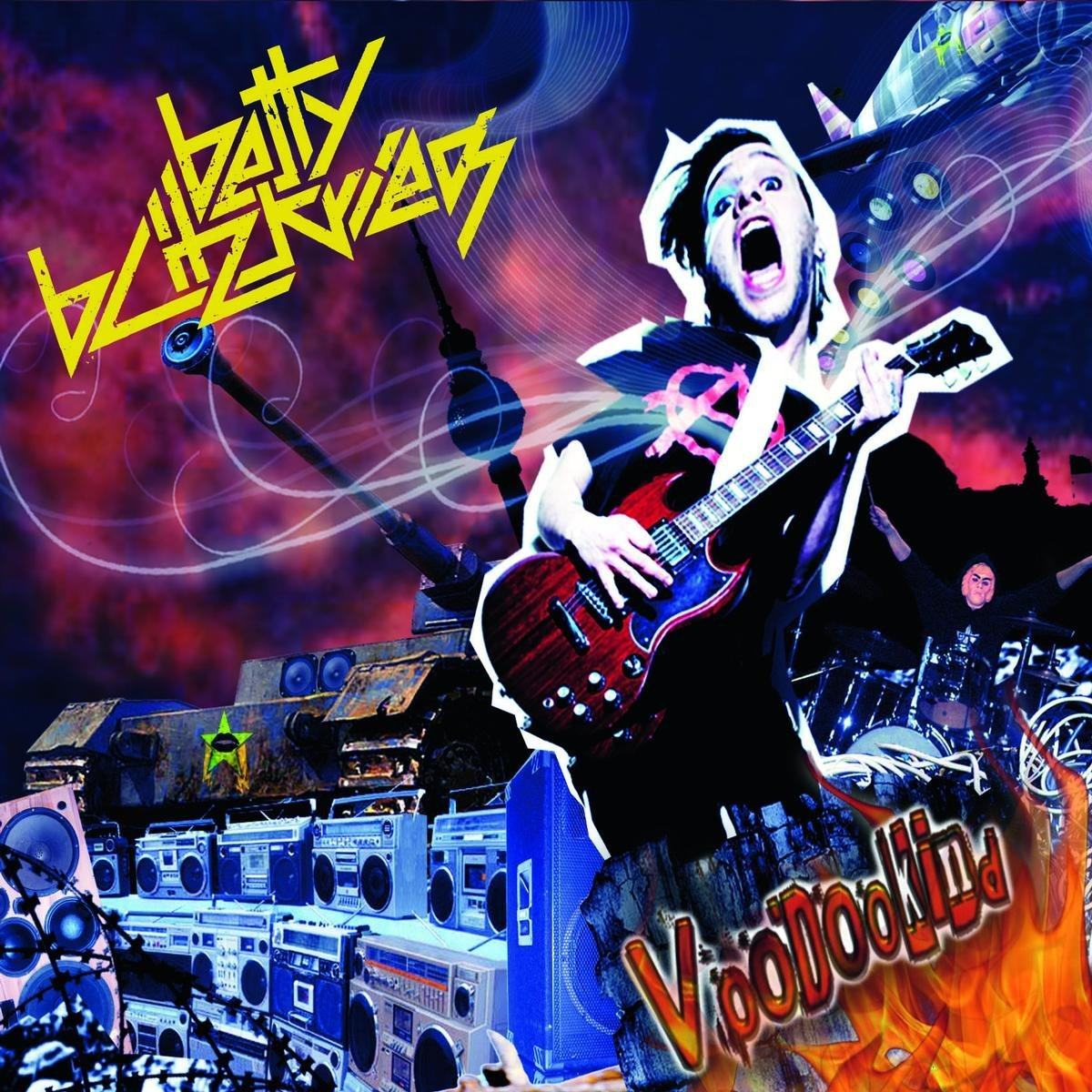 Betty Blitzkrieg: Voodookind (2009) Book Cover