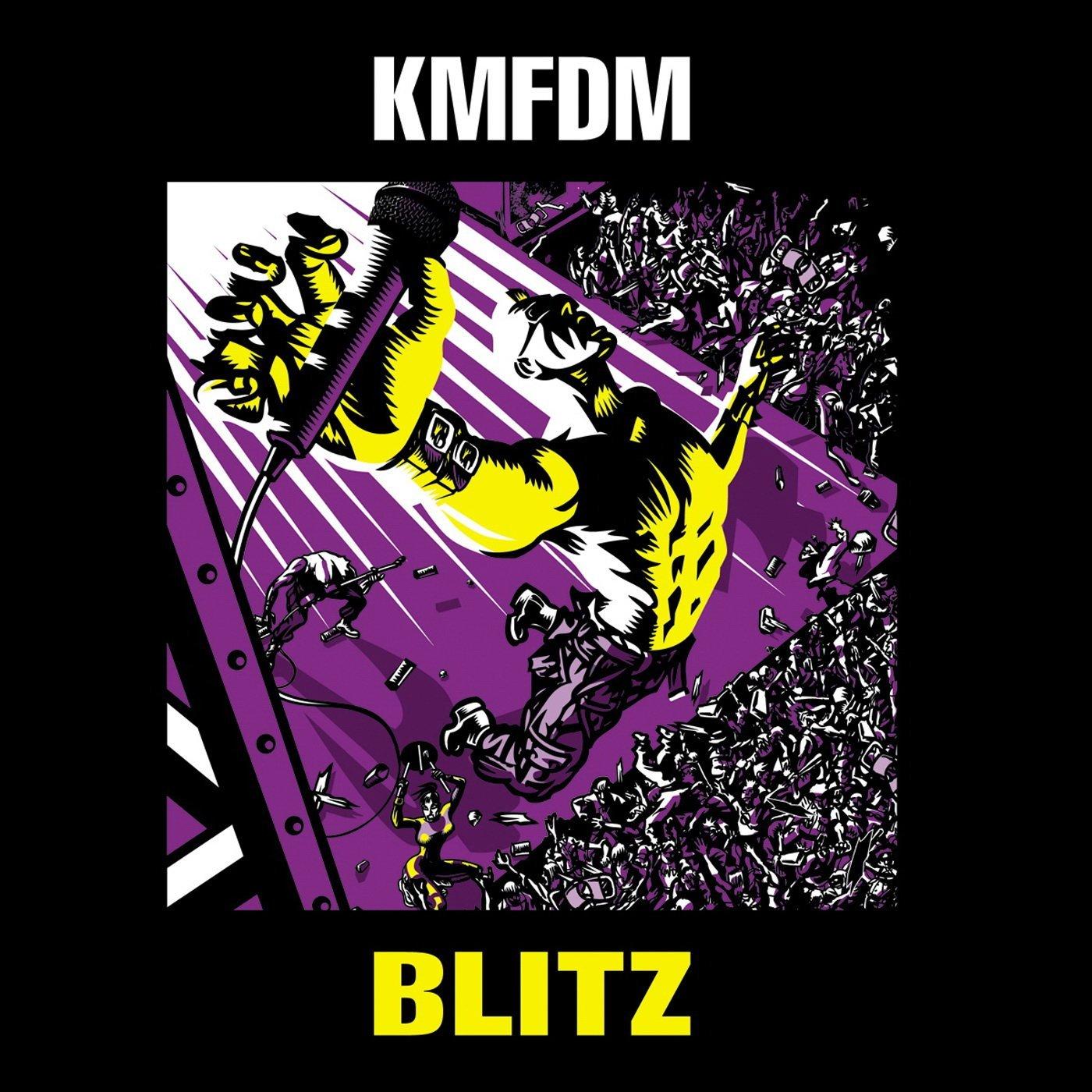 KMFDM: Blitz (2009) Book Cover