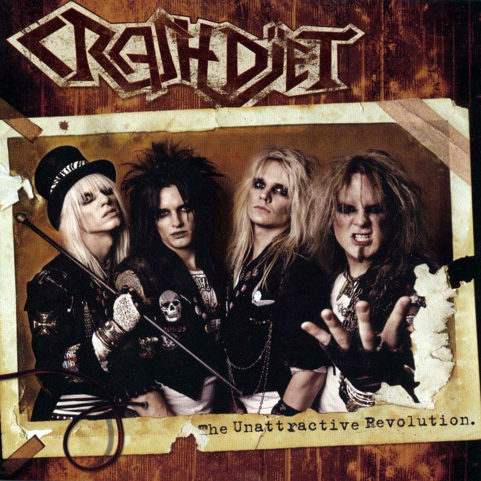 Crashdiet: The Unattractive Revolution (2007) Book Cover
