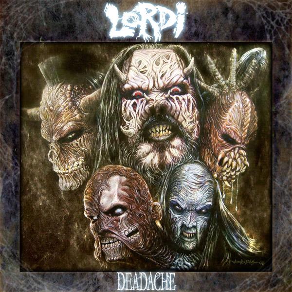 Lordi: Deadache (2008) Book Cover
