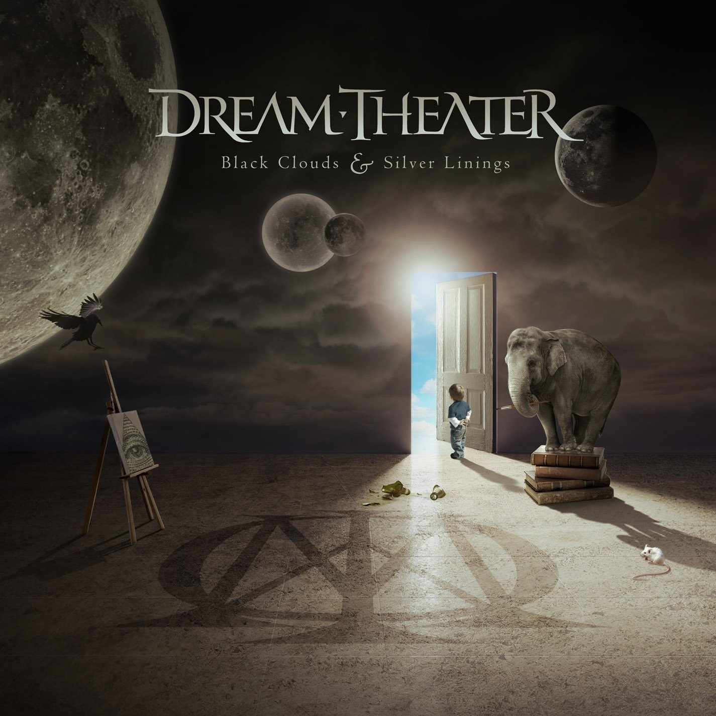 Dream Theater: Black Clouds & Silver Linings (2009) Book Cover