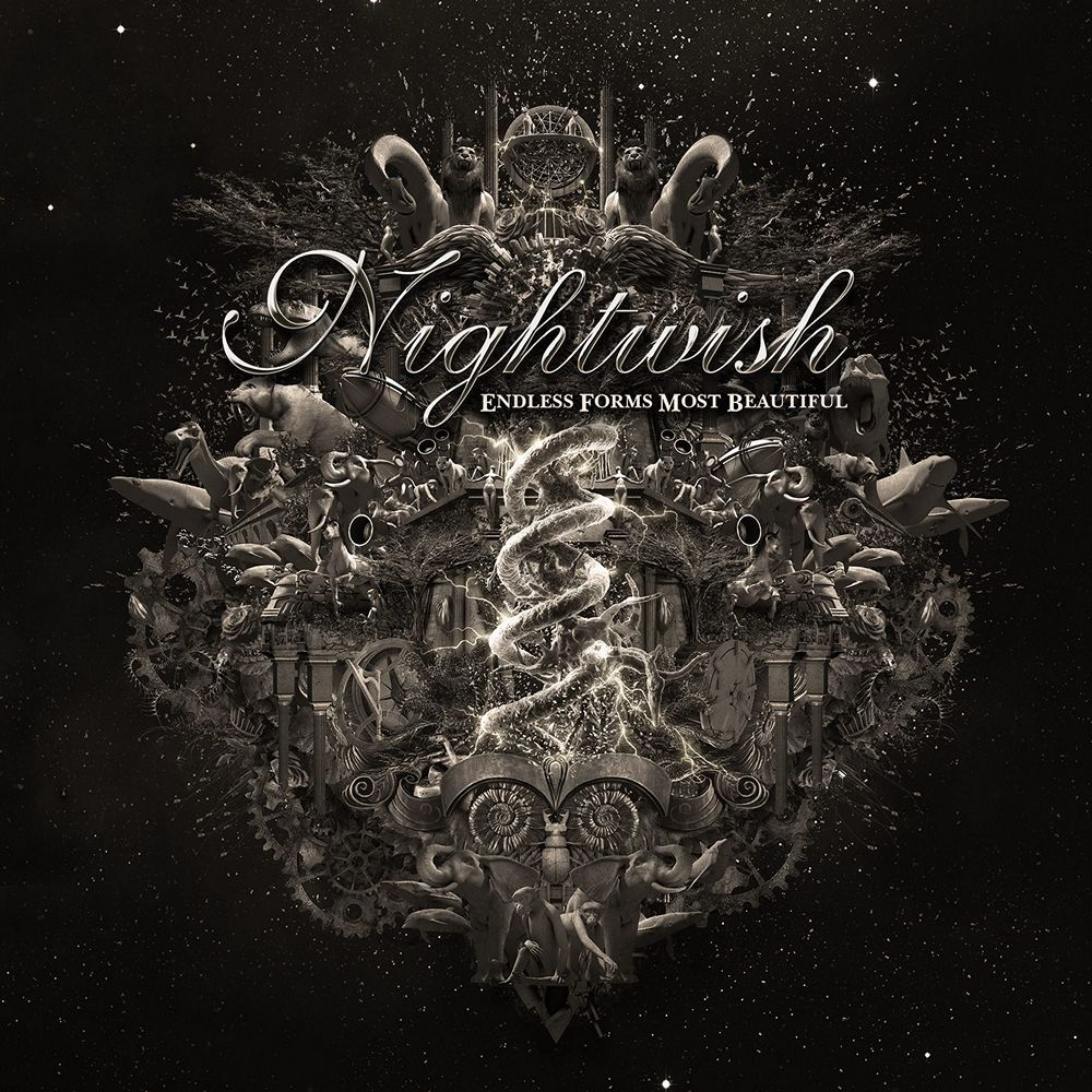 Nightwish: Endless Forms Most Beautiful (2015) Book Cover