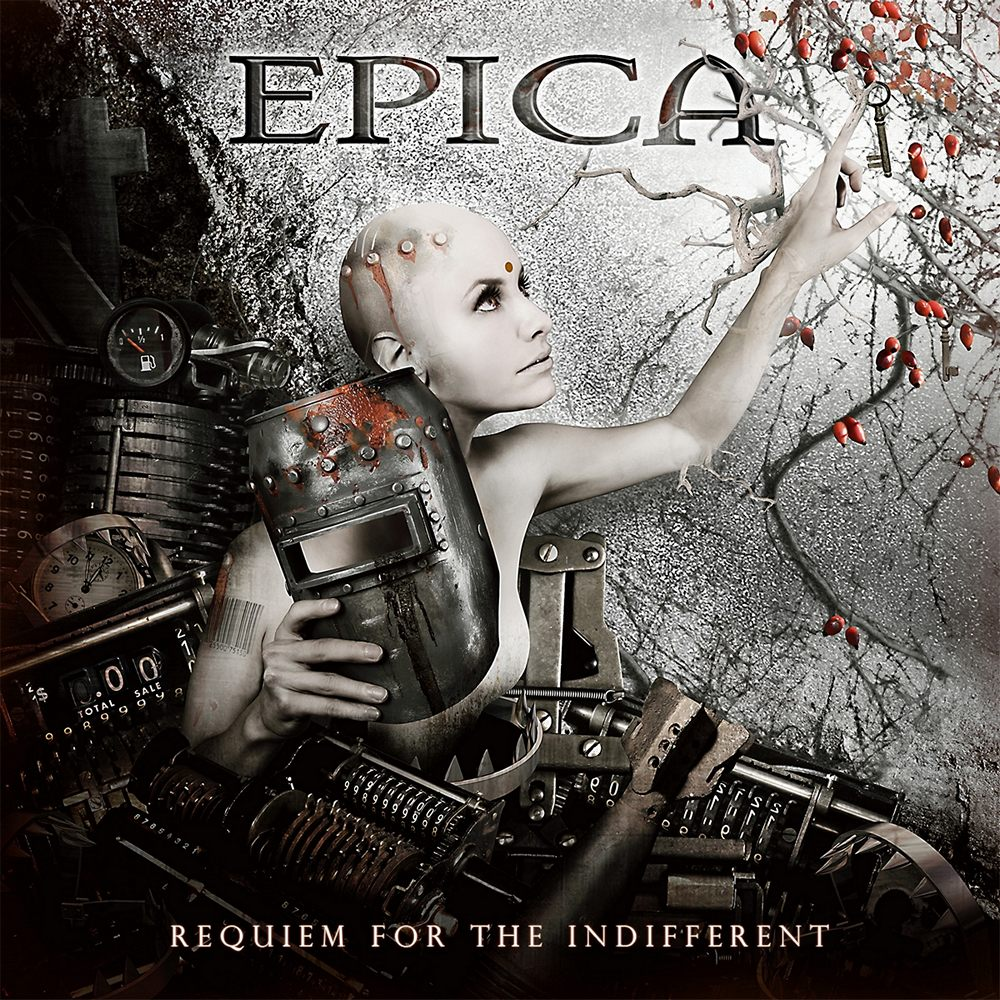 Epica: Requiem for the Indifferent (2012) Book Cover