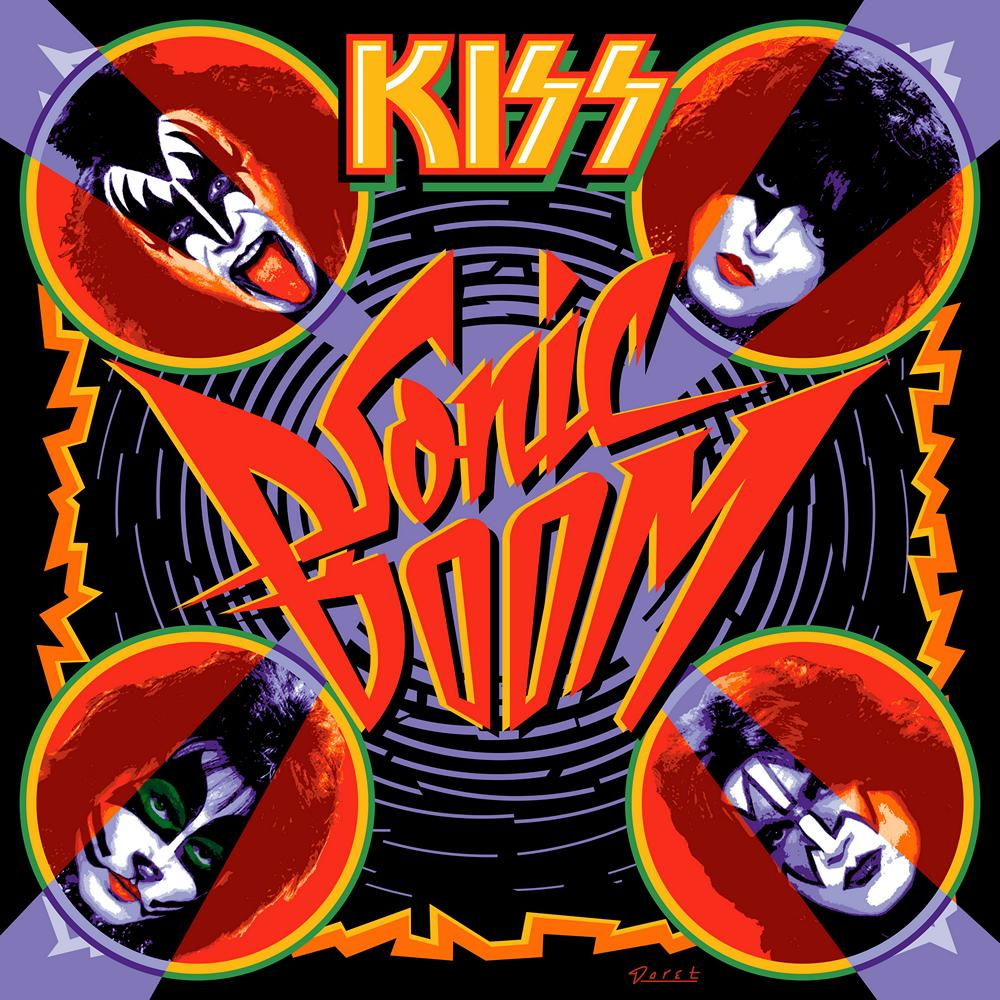 KISS: Sonic Boom (2009) Book Cover
