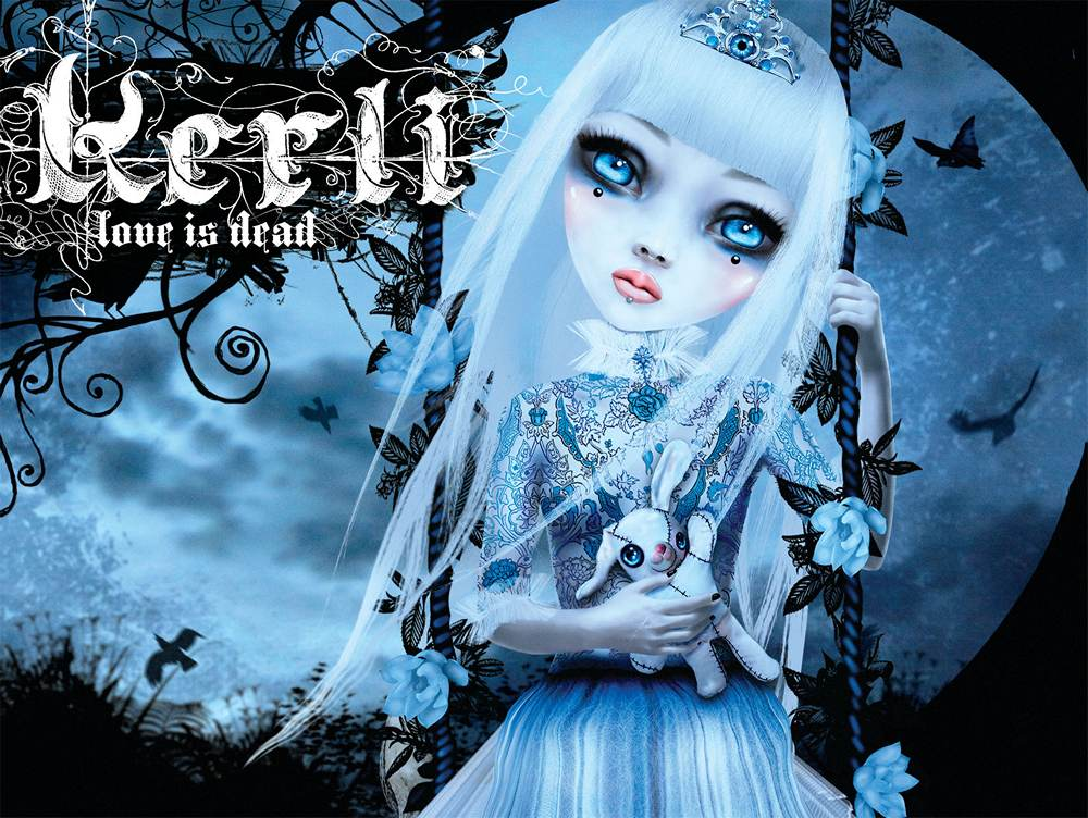 Kerli: Love is Dead (2009) Book Cover