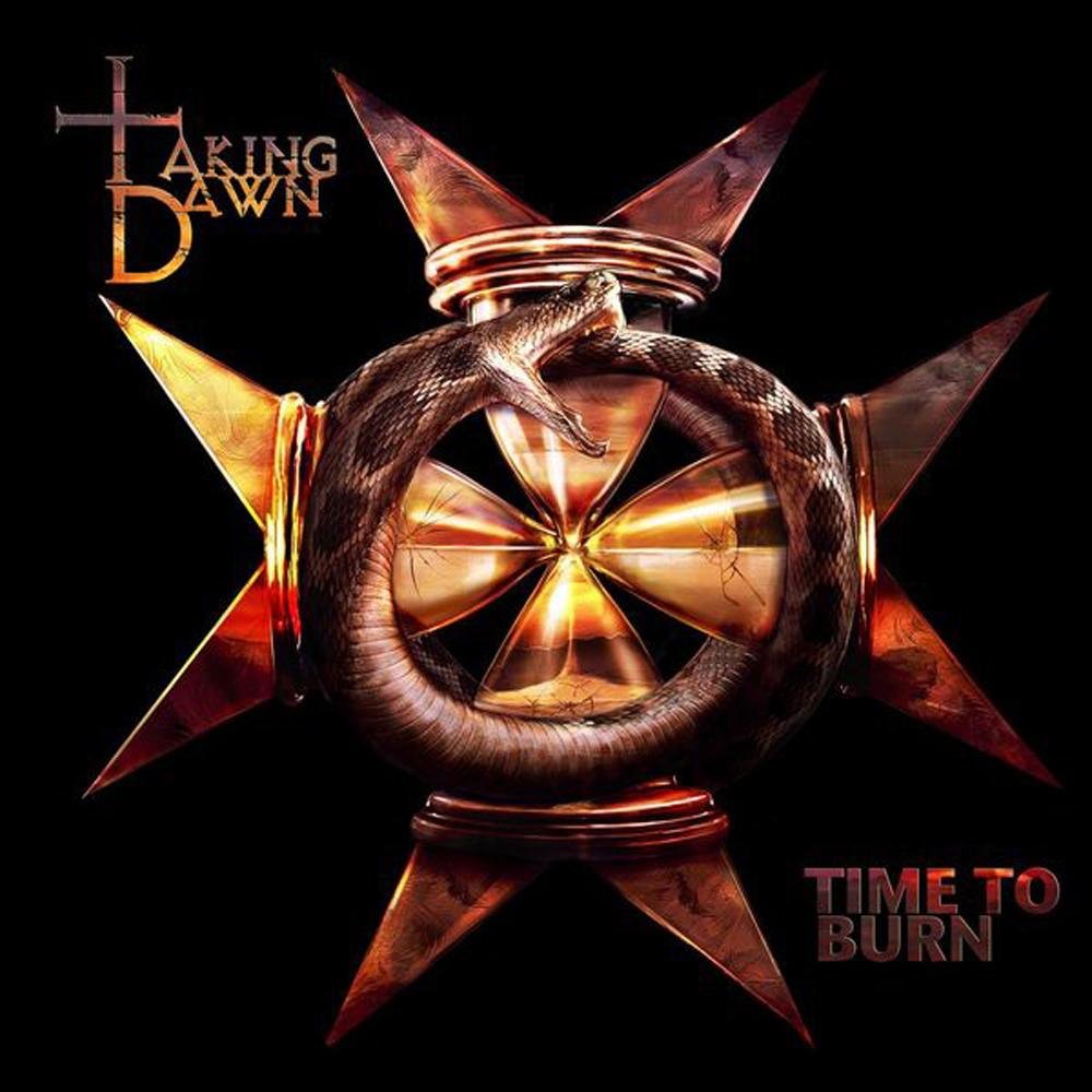 Taking Dawn: Time To Burn (2010) Book Cover