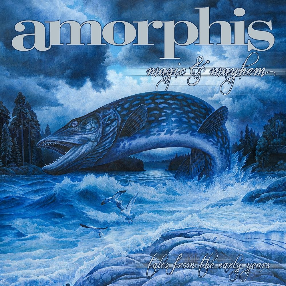 Amorphis: Magic And Mayhem Tales From The Early Years (2010) Book Cover