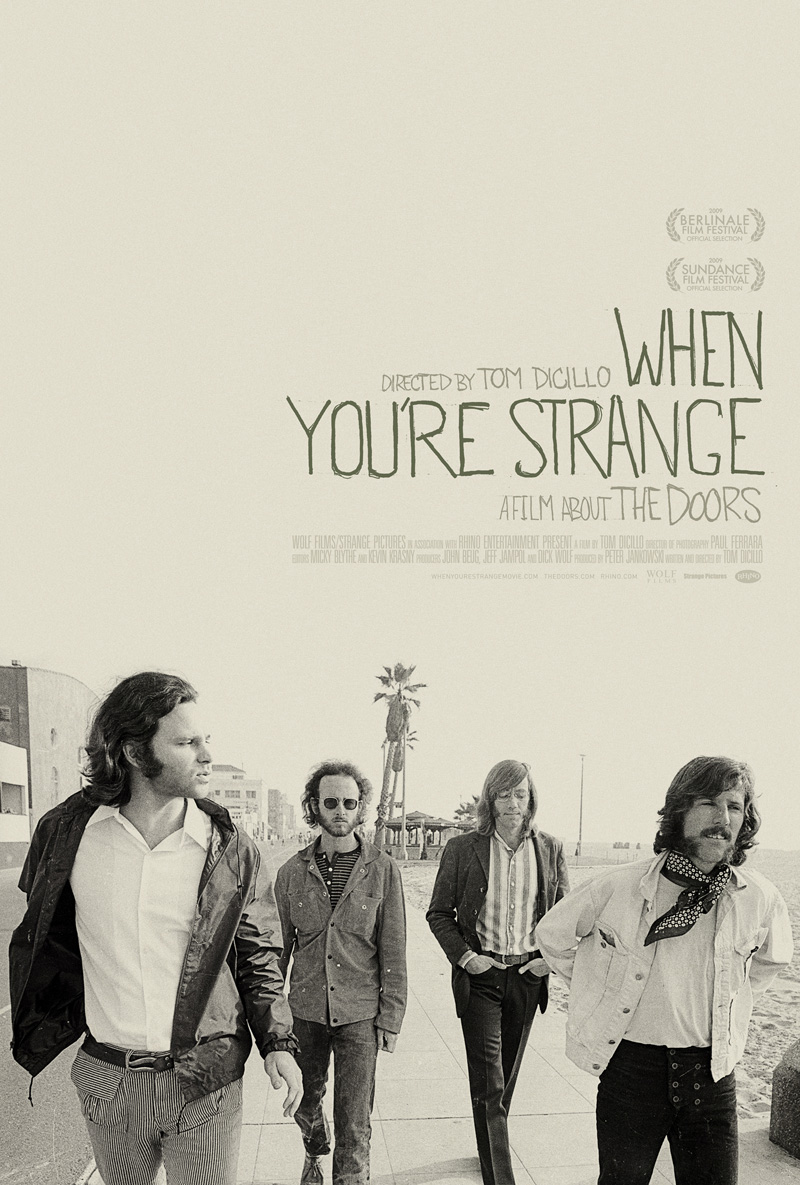 The Doors: When You're Strange - Film (2010) Book Cover