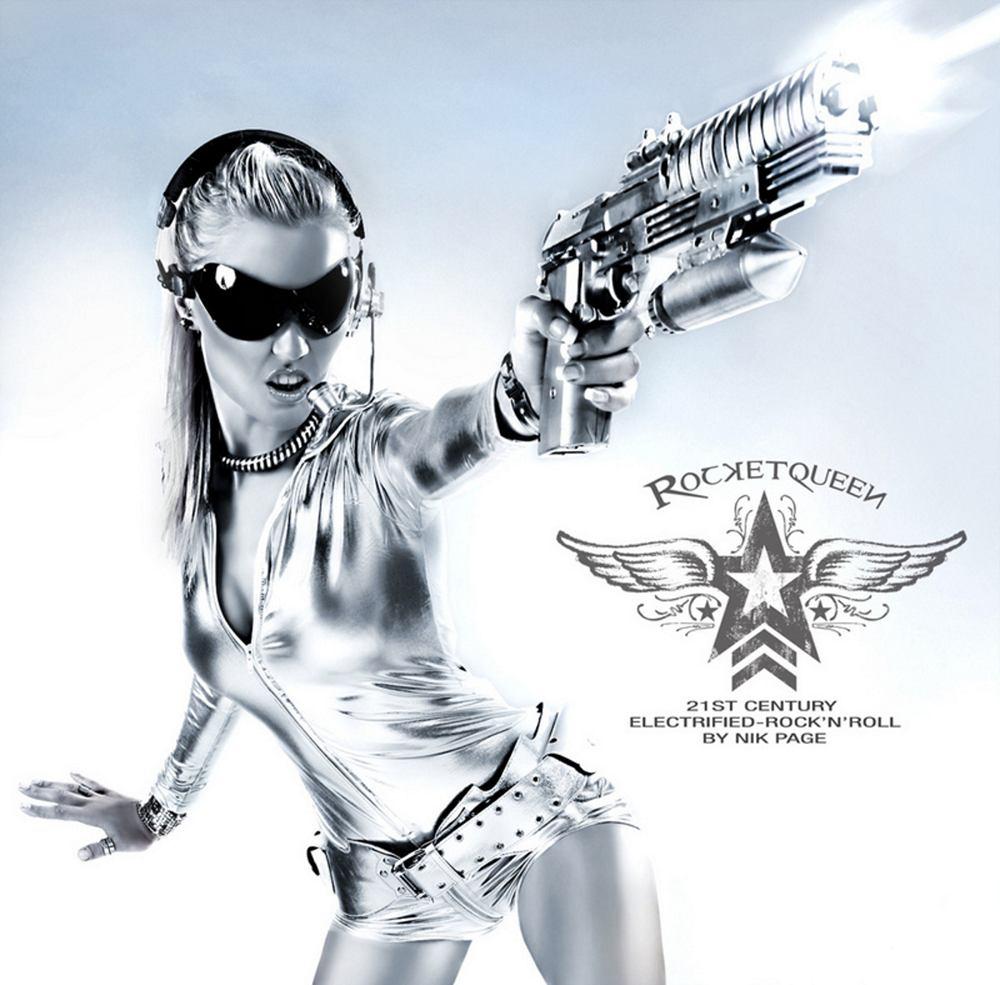 Nik Page: Rocketqueen (2009) Book Cover