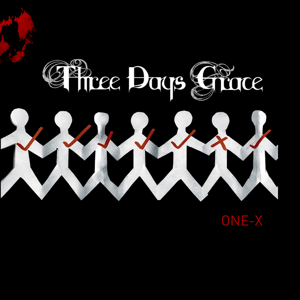 Three Days Grace: One X (2008) Book Cover