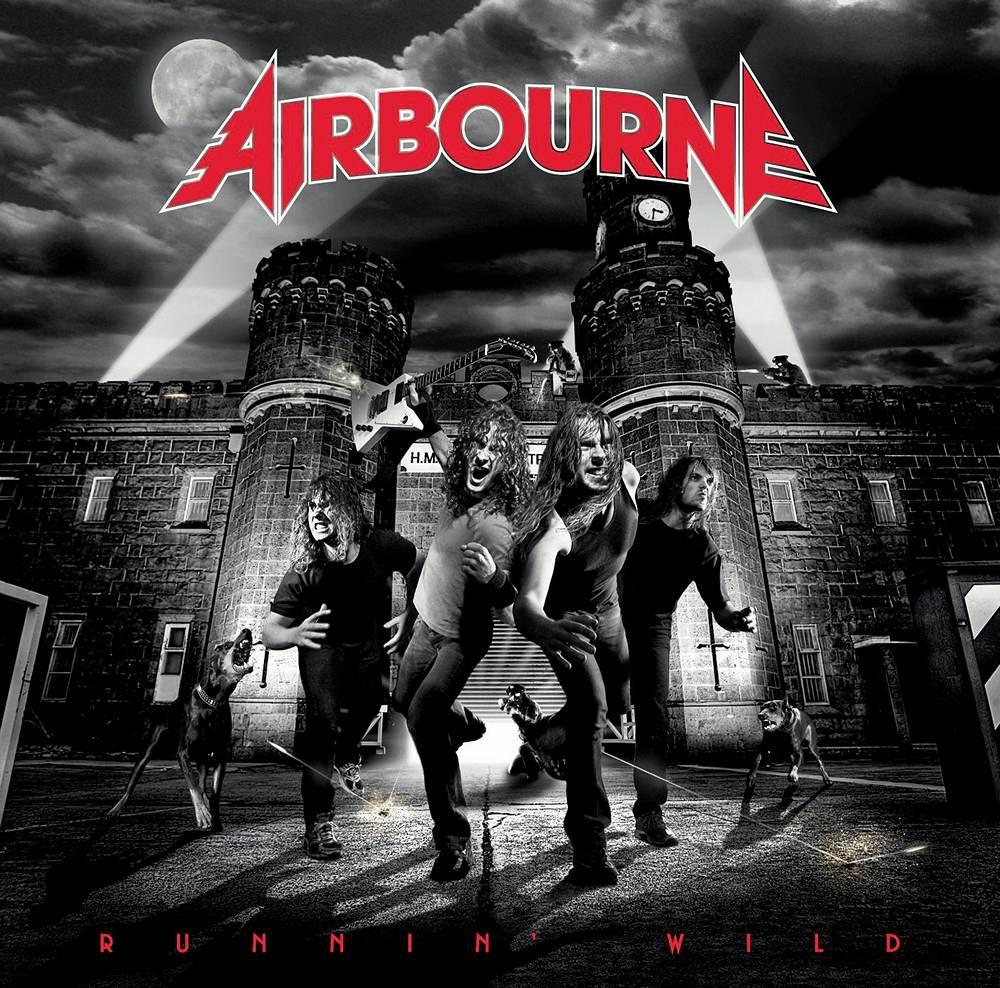 Airbourne: Runnin Wild (2008) Book Cover