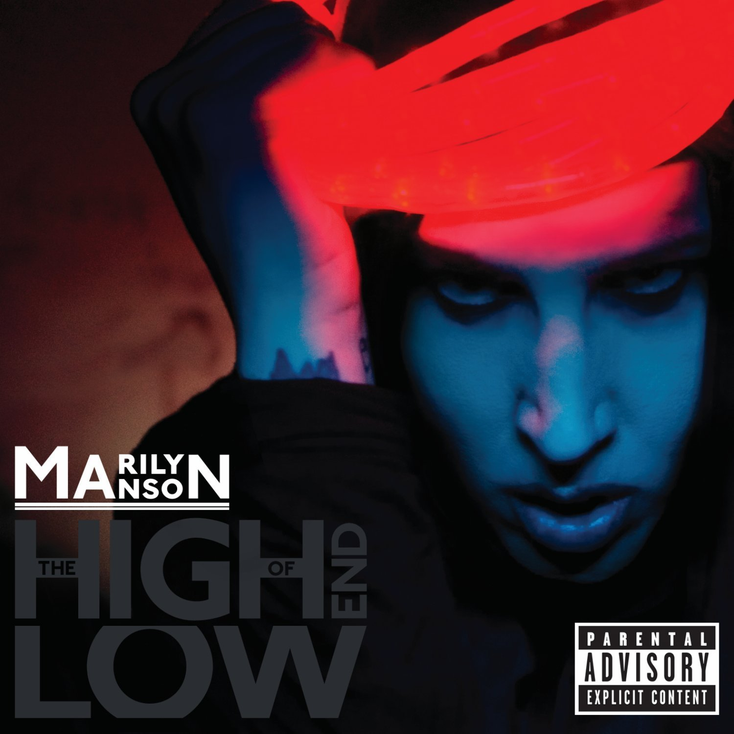 Marilyn Manson: The High End Of Low (2009) Book Cover