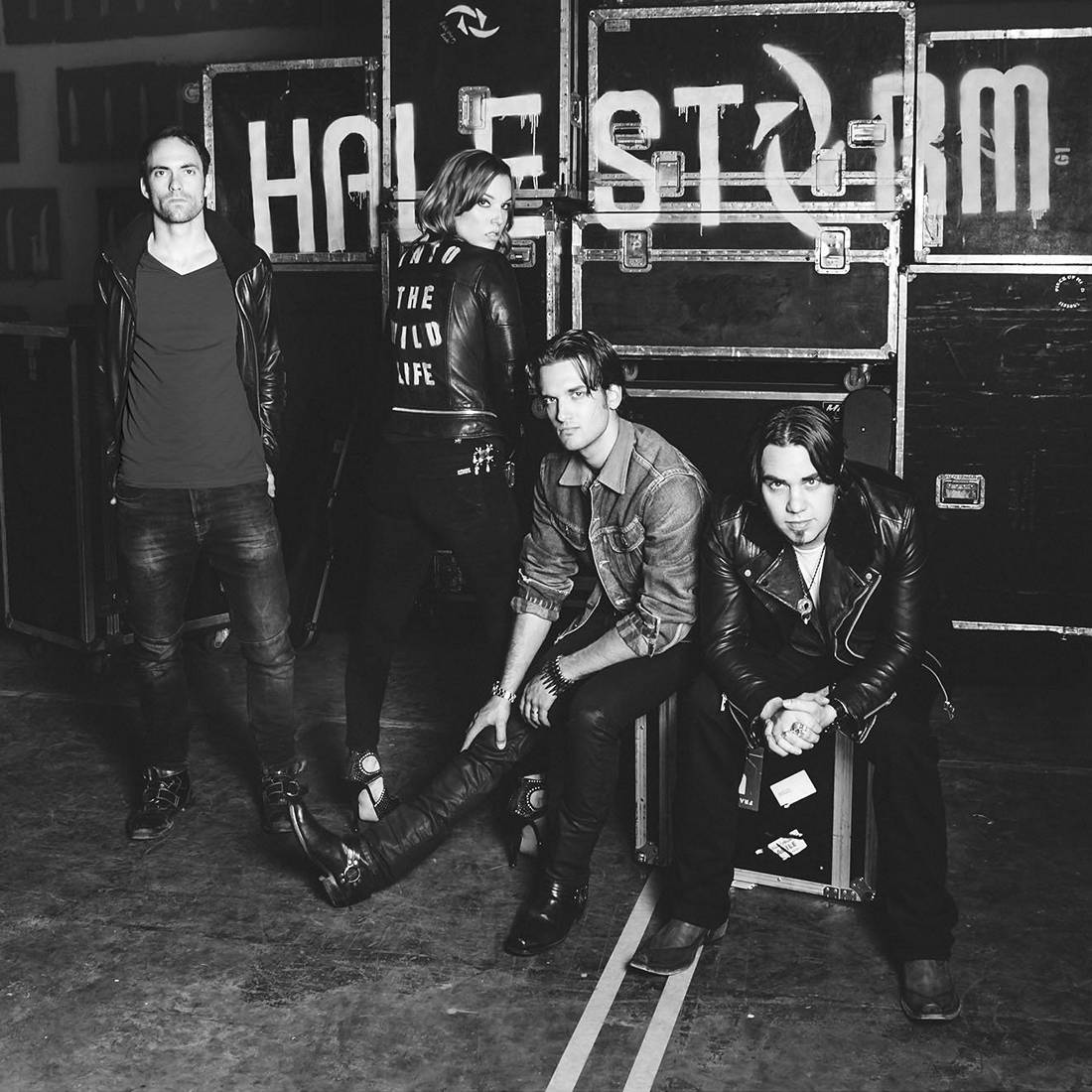 Halestorm: Into The Wild Life (2015) Book Cover