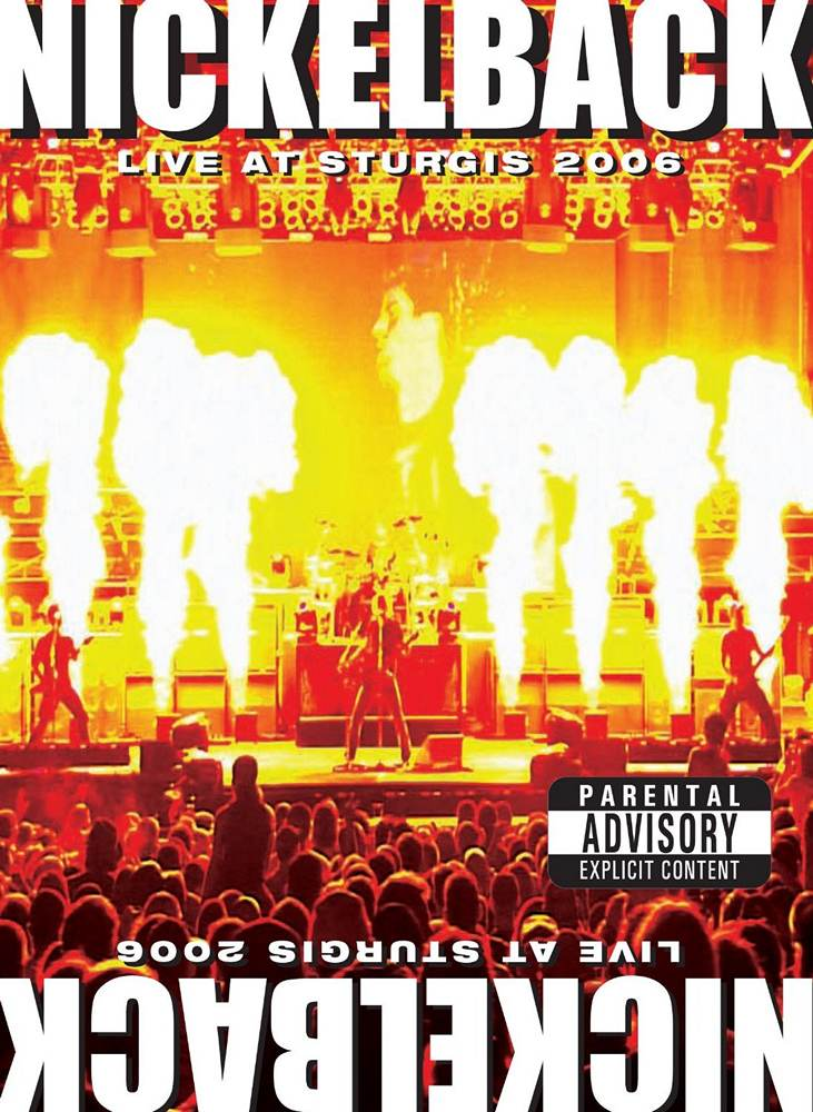 Nickelback: Live at Sturgis (2008) Book Cover