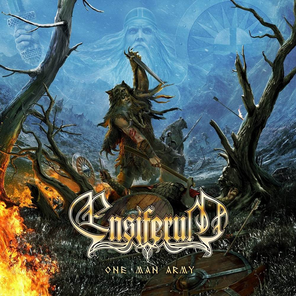 Ensiferum: One Man Army (2015) Book Cover