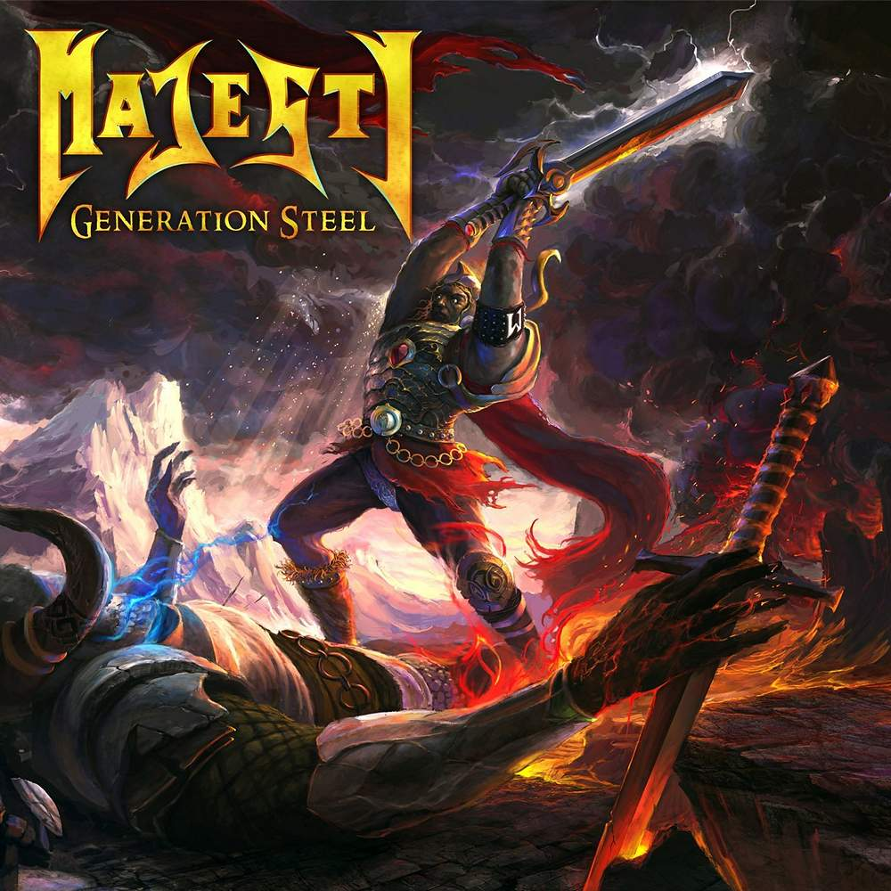 Majesty: Generation Steel (2015) Book Cover