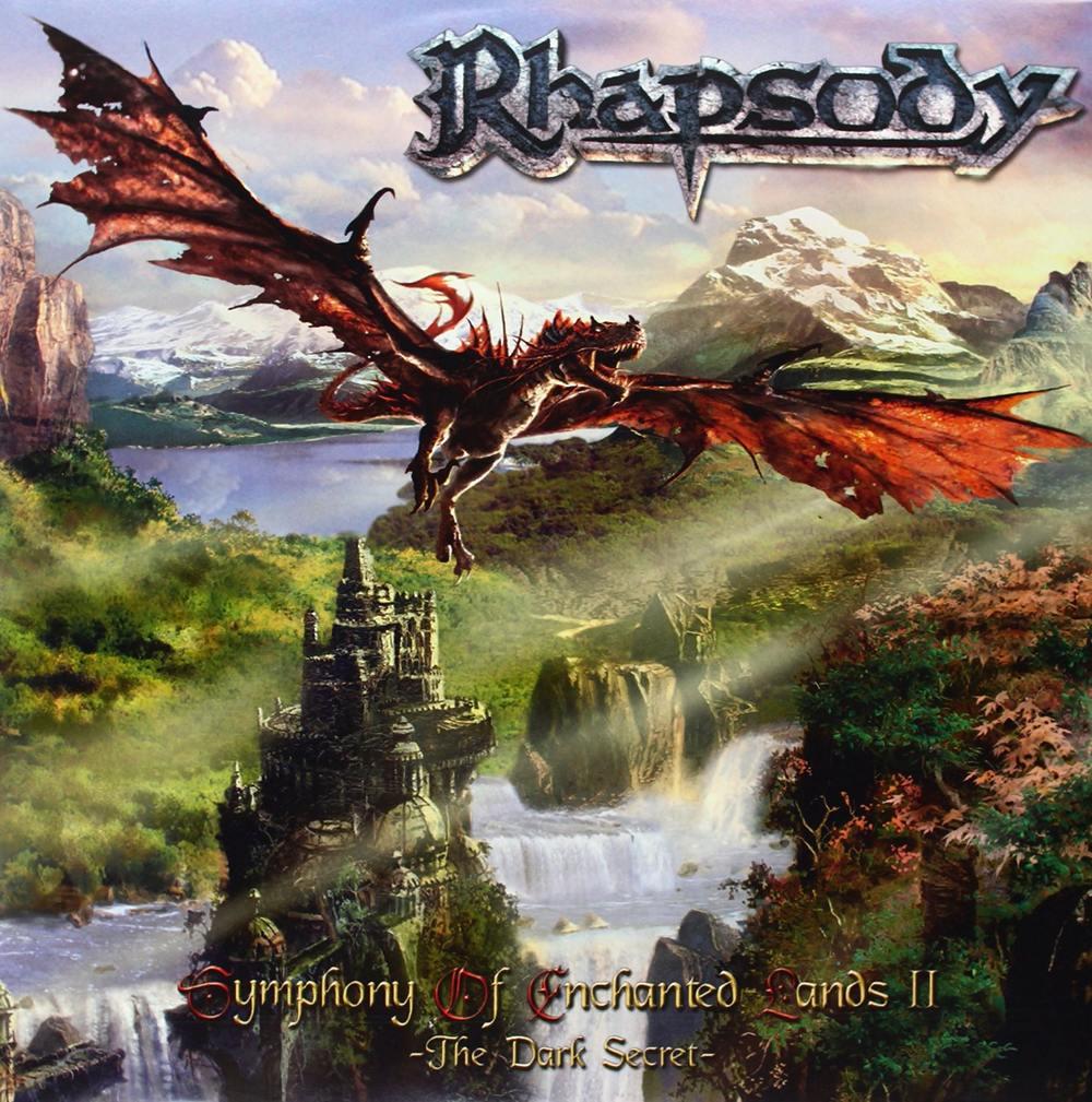 Rhapsody: Symphony Of Enchanted Lands II - The Dark Secret (2004) Book Cover