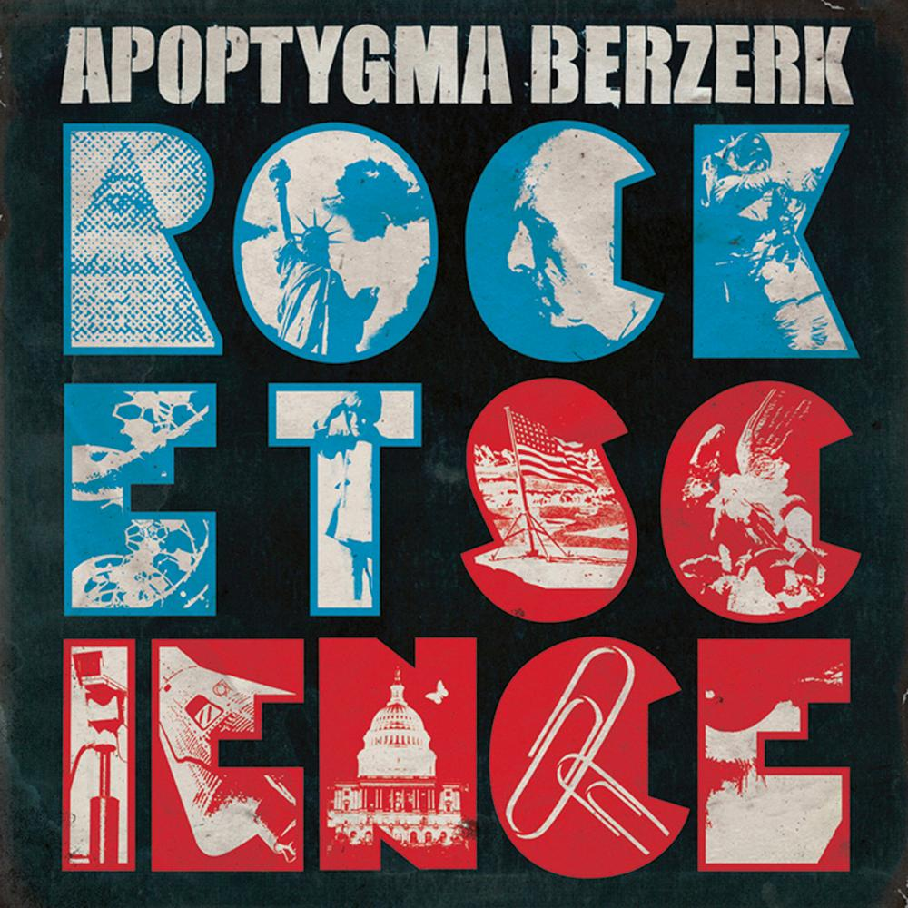 Apoptygma Berzerk: Rocket Science (2009) Book Cover