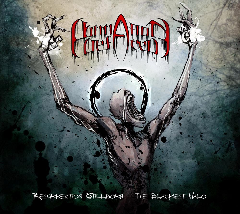 Damnation Defaced: Resurrection Stillborn - The Blackest Halo (2009) Book Cover