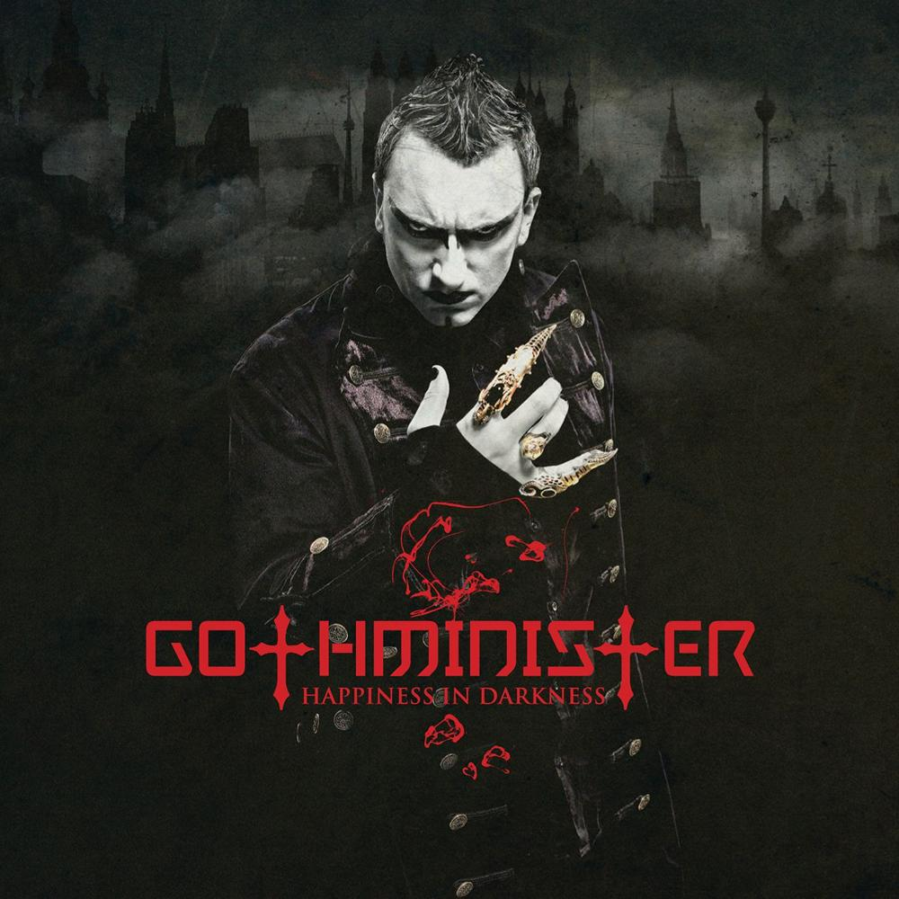 Gothminister: Happiness in Darkness (2008) Book Cover
