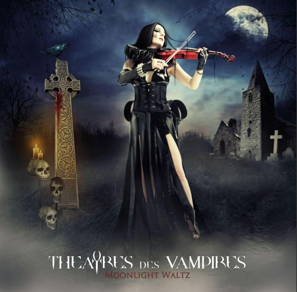 Theatres of Vampires: Moonlight Waltz (2011) Book Cover