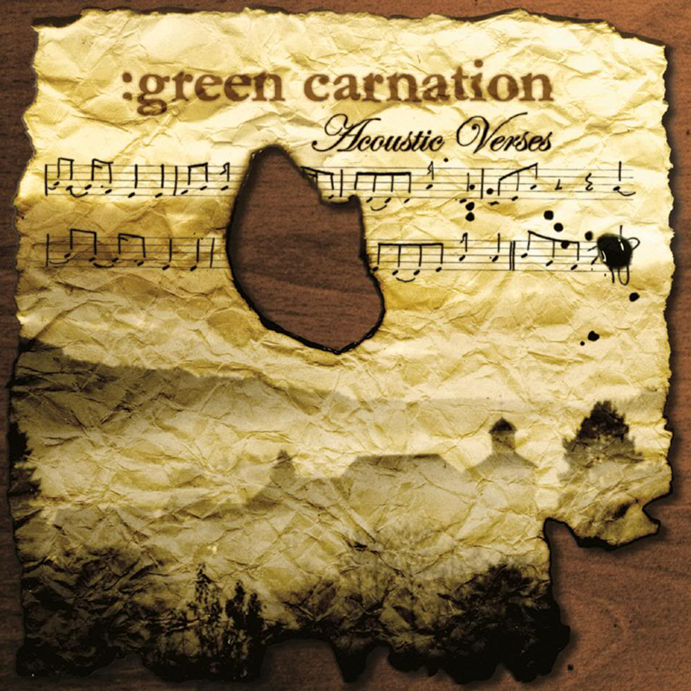 Green Carnation: The Accoustic Verses (2006) Book Cover
