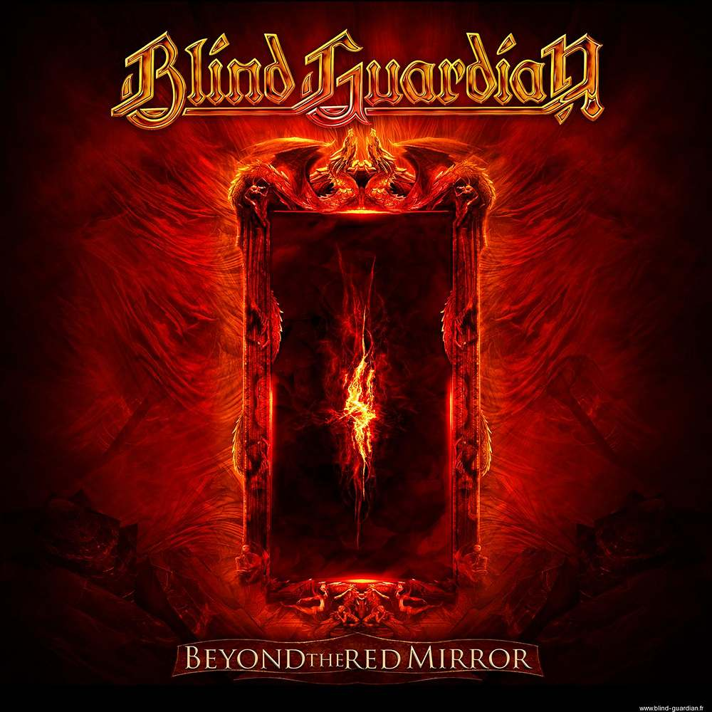 Blind Guardian: Beyond The Red Mirror (2015) Book Cover