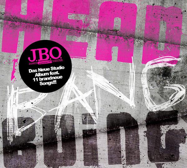 J.B.O.: Head Bang Boing (2007) Book Cover