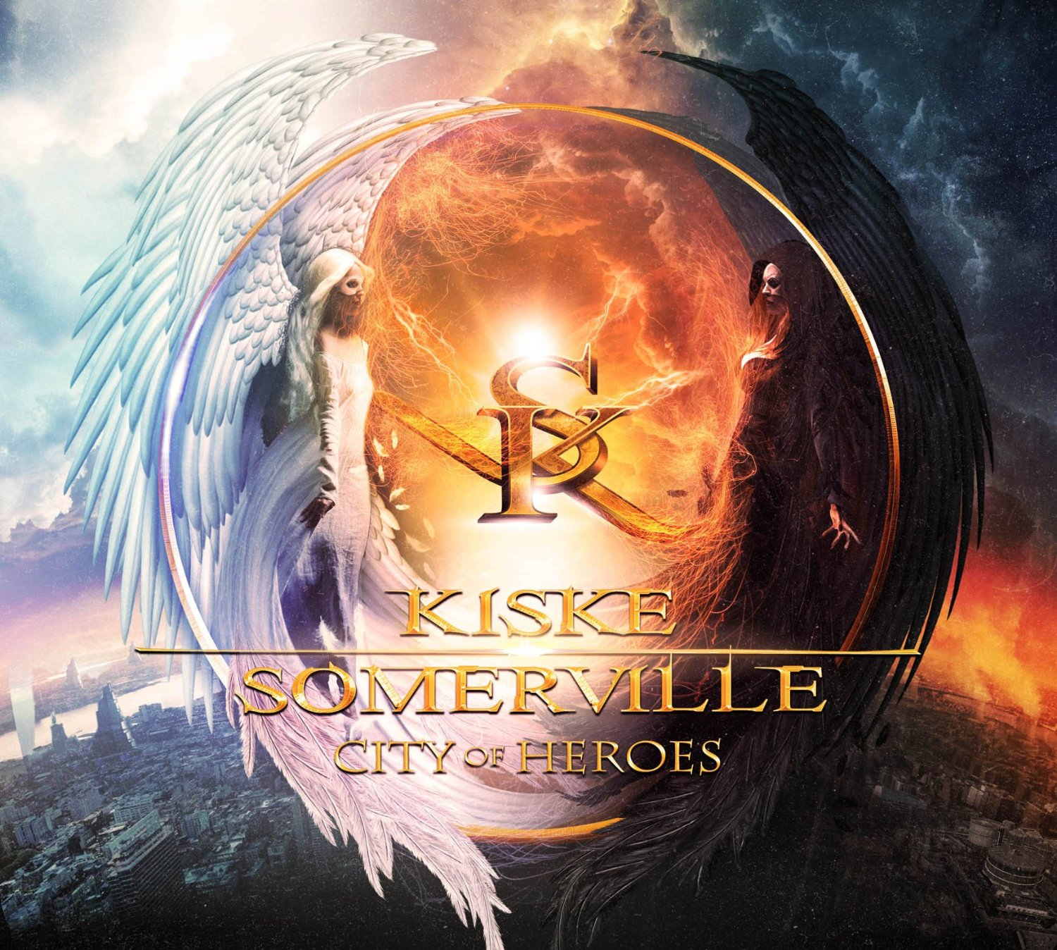 Kiske & Sommerville: City of Heroes (2015) Book Cover