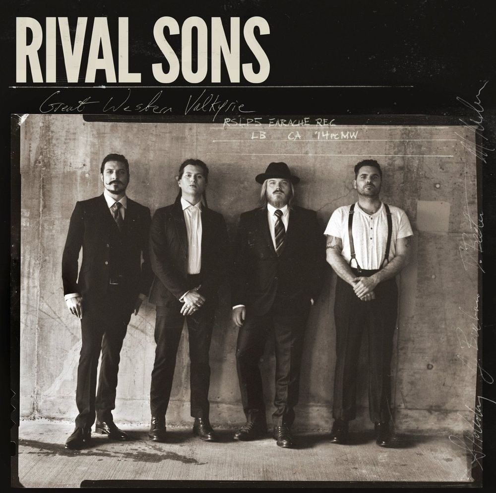 Rival Sons: Great Western Valkyrie (2014) Book Cover