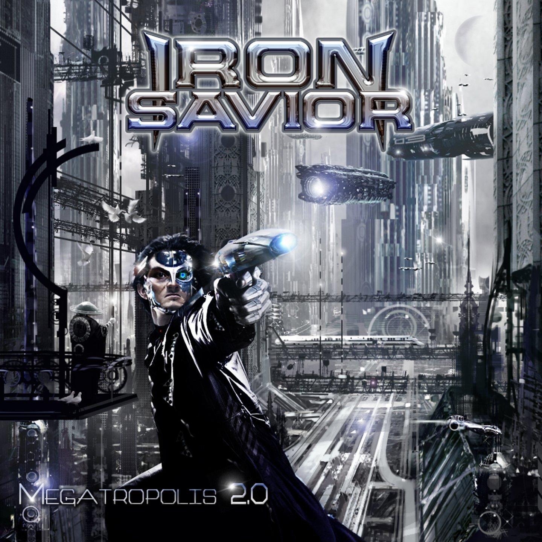 Iron Savior: Megatropolis 2.0 (2015) Book Cover